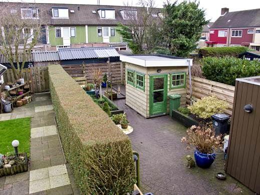 Tuinhuisje plaatsen 4